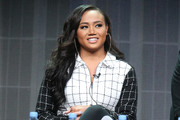 Singer Cymphonique Miller speaks onstage during the 'Master P's Family Empire' panel discussion at the Reelz portion of the 2015 Summer TCA Tour at The Beverly Hilton Hotel on August 7, 2015 in Beverly Hills, California.