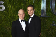Richie Jackson and Jordan Roth attend the 2015 Tony Awards at Radio City Music Hall on June 7, 2015 in New York City.