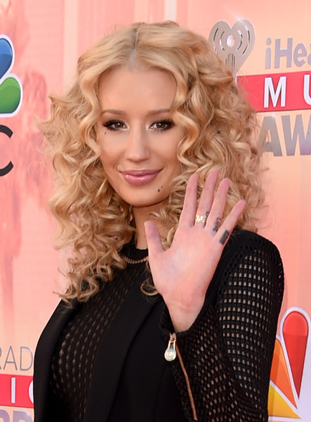 Rapper Iggy Azalea attends the 2015 iHeartRadio Music Awards which broadcasted live on NBC from The Shrine Auditorium on March 29, 2015 in Los Angeles, California.