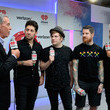 Andy Hurley and Elvis Duran Photos