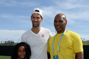 Novak Djokovic and Mike Tyson Photos Photo