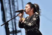 Musician Carla Morrison performs onstage during day 1 of the 2016 Coachella Valley Music & Arts Festival Weekend 2 at the Empire Polo Club on April 22, 2016 in Indio, California.
