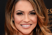 Actress Chrishell Stause walks the red carpet at the 43rd Annual Daytime Emmy Awards at the Westin Bonaventure Hotel on May 1, 2016 in Los Angeles, California.