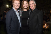 David Gersh, Emily Deschanel and Bob Ggersh attend the Gersh Emmy Party presented by World Class Spirits at a private residence on September 16, 2016 in Los Angeles, California.