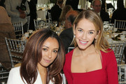 Actress Kat Graham and Miss USA Olivia Jordan attend the 2016 International Women's Day Annual Awards Luncheon at United Nations on March 4, 2016 in New York City.