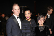 (L-R) Peter Kloman, Andrea Fiuczynski, and Carol Elie attend 2016 LACMA Art + Film Gala honoring Robert Irwin and Kathryn Bigelow presented by Gucci at LACMA on October 29, 2016 in Los Angeles, California.