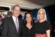 (L-R) Co-Chairs of March of Dimes Jimmy Horowitz and Joi Horowitz and actress Monica Potter attend 2016 March of Dimes Celebration of Babies at the Beverly Wilshire Four Seasons Hotel on December 9, 2016 in Beverly Hills, California.
