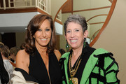 Honorees Donna Karan and Beth Rudin DeWoody attend the 2016 Parsons Benefit at Chelsea Piers on May 23, 2016 in New York City.
