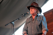 Musician Billy Joe Shaver performs onstage during 2016 Stagecoach California's Country Music Festival at Empire Polo Club on April 29, 2016 in Indio, California.