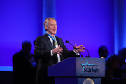 """Former British Prime Minister Tony Blair at the 2016 Starkey Hearing Foundation """"So the World May Hear"""" awards gala at the St Paul RiverCentre on July 17, 2016 in St Paul, Minnesota."""