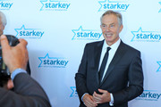 """Former Prime Minister Tony Blair poses on the red carpet at the 2016 Starkey Hearing Foundation """"So the World May Hear"""" awards gala at the St Paul RiverCentre on July 17, 2016 in St Paul, Minnesota."""
