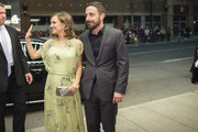 Natalie Portman and director Pablo Larrain arrive for the premiere of the film Jackie at the Toronto International Film Festival in Toronto, Ontario, September 11, 2016. / AFP / GEOFF ROBINS