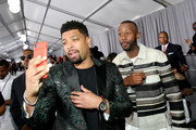 DeRay Davis (L) and James Davis at the 2017 BET Awards at Staples Center on June 25, 2017 in Los Angeles, California.