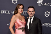 Ingrid Vandebosch and Jeff Gordon attend The 2017 Baby2Baby Gala presented by Paul Mitchell on November 11, 2017 in Los Angeles, California.