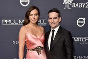Ingrid Vandebosch and Jeff Gordon attend the 2017 Baby2Baby Gala at 3LABS on November 11, 2017 in Culver City, California.