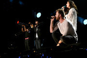 (EDITORIAL USE ONLY)  Charles Kelley and Hillary Scott of Lady Antebellum perform onstage during day 3 of the 2017 CMA Music Festival on June 10, 2017 in Nashville, Tennessee.
