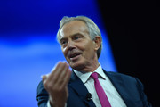 Chairman, European Council on Tolerance and Reconciliation & Former Prime Minister, United Kingdom of Great Britain and Northern Ireland, Tony Blair speaks at The 2017 Concordia Annual Summit at Grand Hyatt New York on September 18, 2017 in New York City.