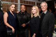 (L-R) Heather Taras, Daymond John, Susan Gersh, and David Gersh attend the 2017 Gersh Emmy Party presented by Tequila Don Julio 1942 on September 15, 2017 in Los Angeles, California.