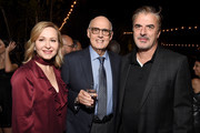 (L-R) Kasia Ostlun, Jeffrey Tambor, and Chris Noth attend the 2017 Gersh Emmy Party presented by Tequila Don Julio 1942 on September 15, 2017 in Los Angeles, California.