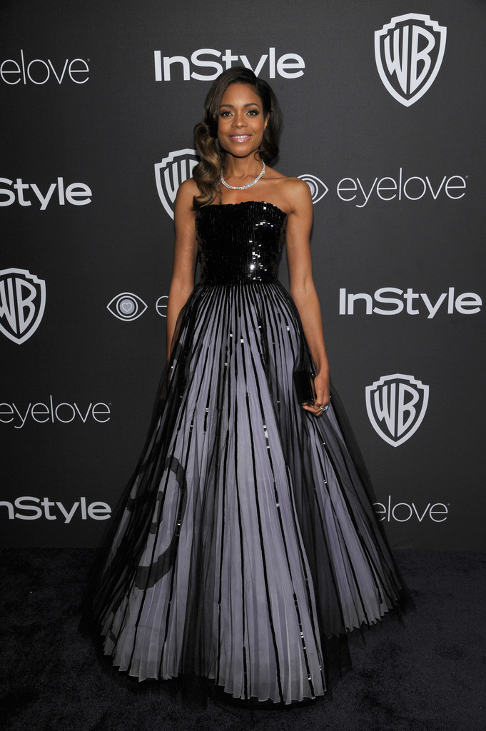 Naomie Harris Photos - The 2017 InStyle and Warner Bros  73rd Annual