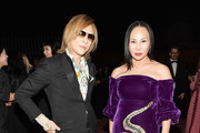 Eva Chow and Yoshiki Photos Photo