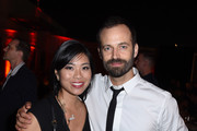 Founder and Managing Partner of AN Catering Catherine An and Benjamin Millepied attend the 2017 Los Angeles Dance Project Gala on October 7, 2017 in Los Angeles, California.