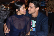 Gina Rodriguez and Joe Locicero attend the 2017 Los Angeles Dance Project Gala on October 7, 2017 in Los Angeles, California.