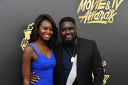 Lil Rel Howery and Guest - The Cutest Couples at the 2017 MTV Movie and TV Awards