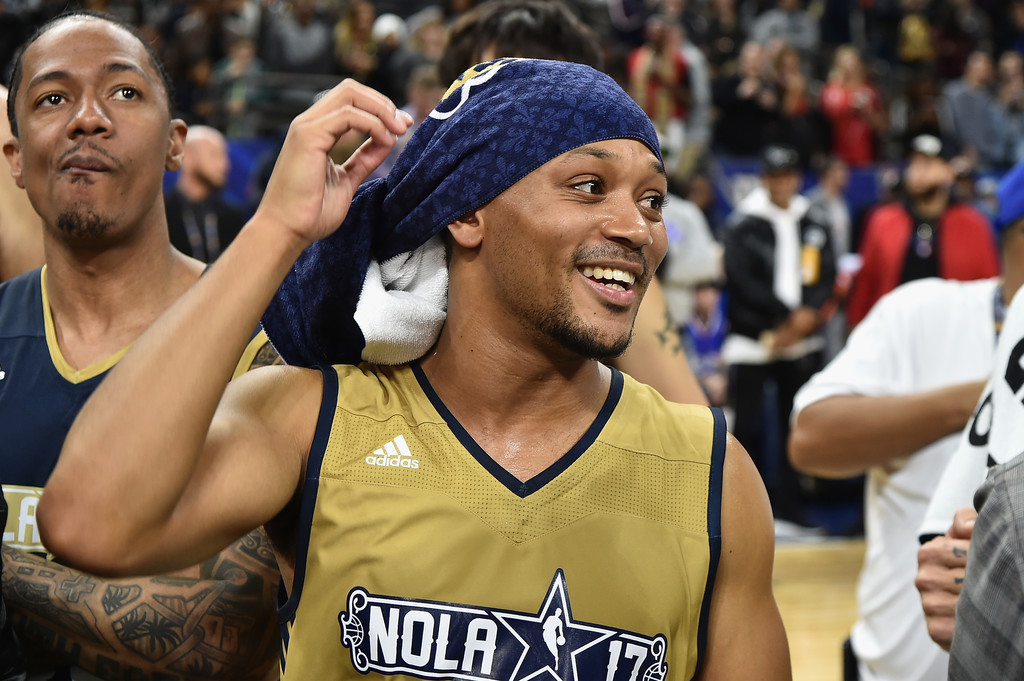 Romeo Miller Photos Photos - 2017 NBA All-Star Celebrity ...