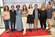 (L-R) Jill Burkhart, Ben Stiller, Sasheer Zamata, Whitney Cummings, Kristen Schaal, Mike Birbiglia, Bridget Everett and Jonathan Burkhart attend the All-Star Comedy Roundtable during the 2017 Nantucket Film Festival - Day 4 on June 24, 2017 in Nantucket, Massachusetts.