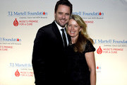Charles Esten and Patty Hanson  arrive at the T.J. Martell Foundation 9th Annual Nashville Honors Gala at Omni Hotel on February 27, 2017 in Nashville, Tennessee.at Omni Hotel on February 27, 2017 in Nashville, Tennessee.