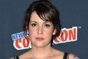 Melanie Lynskey attends the Castle Rock press room at 2017 New York Comic Con on October 8, 2017 in New York City.
