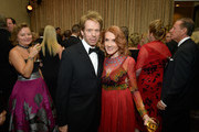 Producer Jerry Bruckheimer (L) and Linda Bruckheimer attend 2017 Princess Grace Awards Gala at The Beverly Hilton Hotel on October 25, 2017 in Beverly Hills, California.