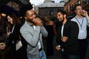 Jermaine Fowler (L) and Neil Brown Jr. attend the 2017 Summer TCA Tour CBS Television Studios' Summer Soiree  at CBS Studios - Radford on August 1, 2017 in Studio City, California.