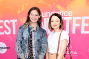 Actors Analeigh Tipton (L) and Emily Browning attend 2017 Sundance NEXT FEST at The Theater at The Ace Hotel on August 13, 2017 in Los Angeles, California.