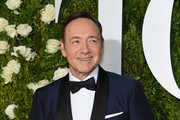 Host Kevin Spacey attends the 2017 Tony Awards at Radio City Music Hall on June 11, 2017 in New York City.