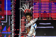 Model Amilna Estevao walks the runway during the 2017 Victoria's Secret Fashion Show In Shanghai at Mercedes-Benz Arena on November 20, 2017 in Shanghai, China.