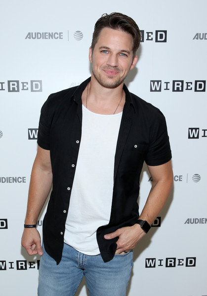 Matt Lanter 2017 Wired Cafe At Comic Con Presented By