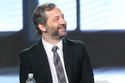 Executive producer/director Judd Apatow of the series 'Crashing' speaks onstage during the HBO portion of the 2017 Winter Television Critics Association Press Tour at the Langham Hotel on January 14, 2017 in Pasadena, California.