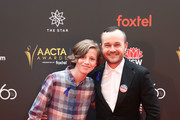 Ty Perham and Daniel Henshall attends the 2018 AACTA Awards Presented by Foxtel at The Star on December 5, 2018 in Sydney, Australia.