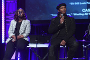 "(L-R) Songwriter/Producer Andrea Martin and Singer/Songwriter Prince Charlez perform onstage at the '13th Annual Writers Jam' onstage during The 2018 ASCAP ""I Create Music"" EXPO at Loews Hollywood Hotel on May 9, 2018 in Hollywood, California."