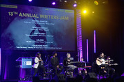 "(L-R) Songwriter/Producer Andrea Martin, Singer/Songwriters Prince Charlez, Amy Kuney, Cassadee Pope and Leland perform onstage at the '13th Annual Writers Jam' during The 2018 ASCAP ""I Create Music"" EXPO at Loews Hollywood Hotel on May 9, 2018 in Hollywood, California."