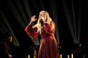 Carrie Underwood performs onstage during the 2018 American Music Awards at Microsoft Theater on October 9, 2018 in Los Angeles, California.