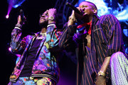 2 Chainz (L) and YG perform onstage at the STAPLES Center Concert Sponsored by SPRITE during the 2018 BET Experience on June 23, 2018 in Los Angeles, California.