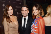 (L-R) Ingrid Vandebosch, Jeff Gordon, and Baby2Baby Co-President Norah Weinstein attend the 2018 Baby2Baby Gala Presented by Paul Mitchell at 3LABS on November 10, 2018 in Culver City, California.