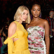 Justine Skye and Hailey Bieber Photos
