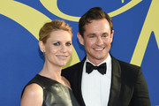 Claire Danes and Hugh Dancy attend the 2018 CFDA Fashion Awards at Brooklyn Museum on June 4, 2018 in New York City.