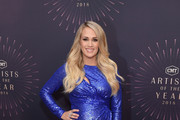 Carrie Underwood attends the 2018 CMT Artists of The Year at Schermerhorn Symphony Center on October 17, 2018 in Nashville, Tennessee.