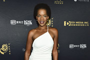 Kelsey Scott attends the Chinese American Film Festival Opening Ceremony and Golden Angel Awards Ceremony at The Ricardo Montalban Theatre on October 30, 2018 in Hollywood, California.