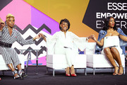 Mary J. Blige, Maxine Waters and Alencia Johnson speak onstage during the 2018 Essence Festival presented by Coca-Cola at Ernest N. Morial Convention Center on July 6, 2018 in New Orleans, Louisiana.